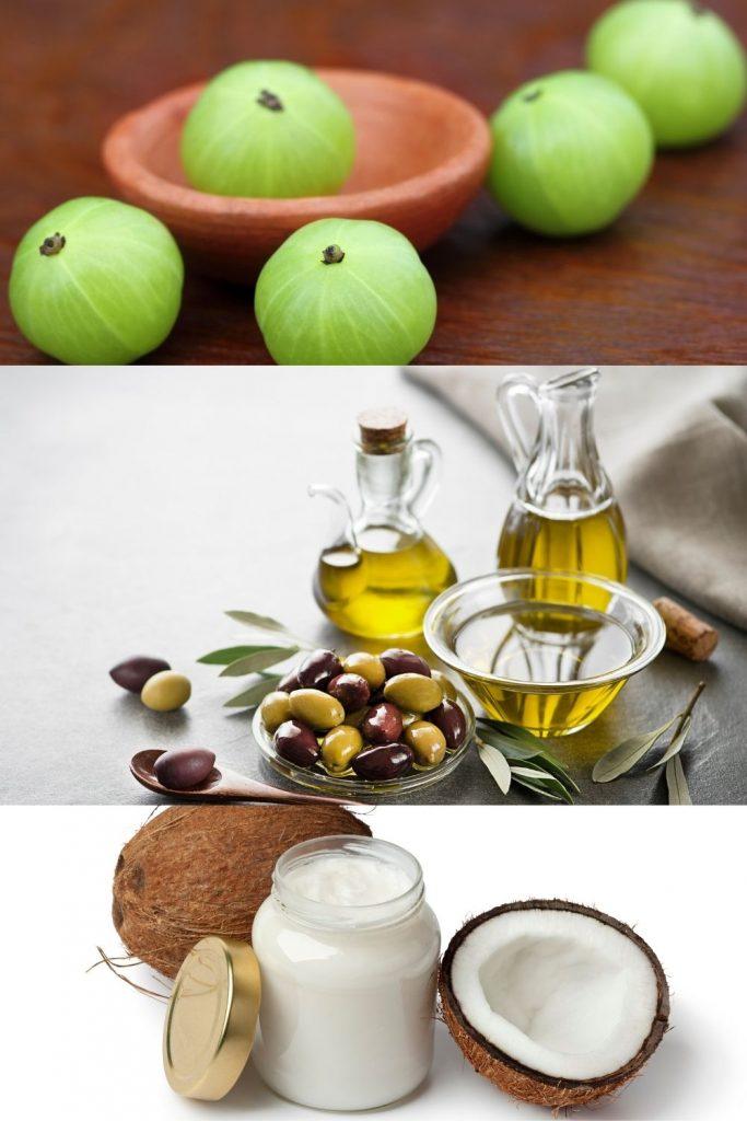 AMLA + OLIVE OIL + COCONUT OIL
